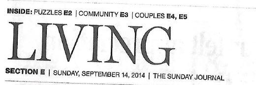 Newspaper header